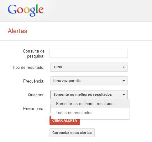 quantos Google Alerts