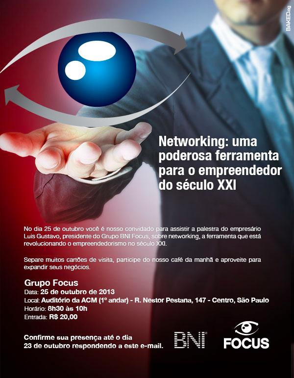 Convite BNI FOCUS