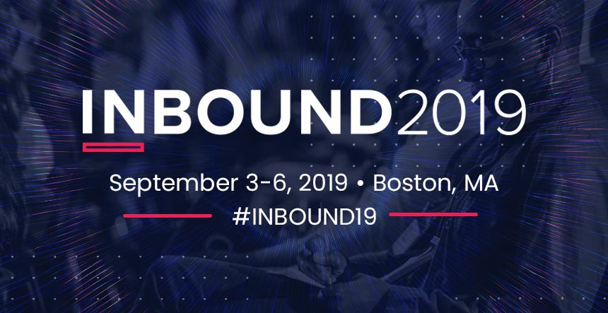 Inbound 2019 Hubspot Boston