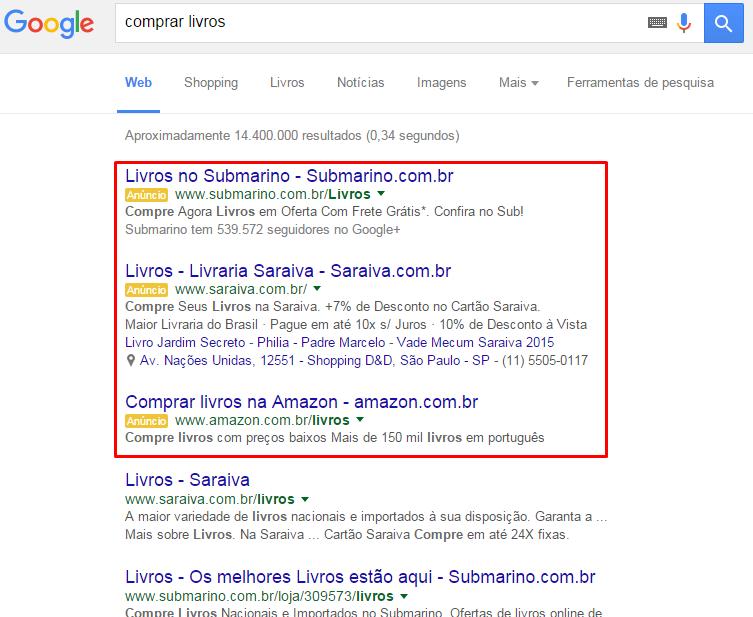 Busca do Google